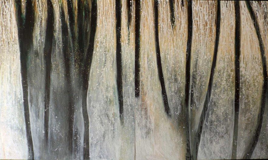 Charcoal & Ash Landscape
